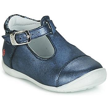Čevlji  Deklice Balerinke GBB MERTONE Modra