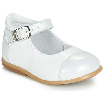 Čevlji  Deklice Balerinke GBB BELISTO Bela