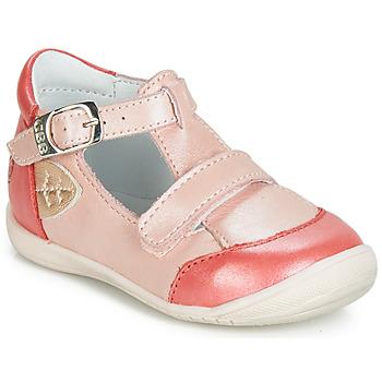 Čevlji  Deklice Balerinke GBB ZENNIA Rožnata