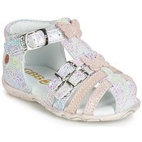 Čevlji  Deklice Sandali & Odprti čevlji GBB RIVIERA Rožnata
