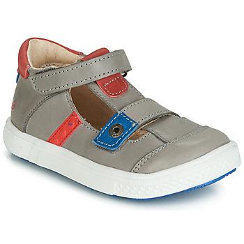 Čevlji  Dečki Sandali & Odprti čevlji GBB VORETO Siva / Modra / Rdeča