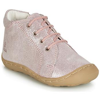 Čevlji  Deklice Visoke superge GBB VEDOFA Rožnata
