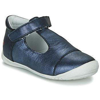 Čevlji  Deklice Balerinke GBB MERCA Modra