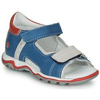 Čevlji  Otroci Sandali & Odprti čevlji GBB PARMO Modra / Rdeča