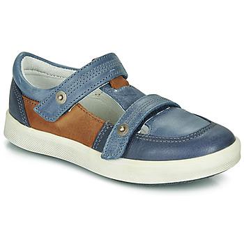 Čevlji  Dečki Nizke superge GBB VARNO Modra
