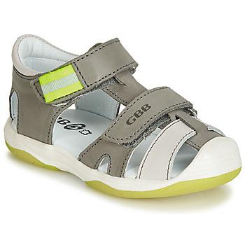 Čevlji  Dečki Sandali & Odprti čevlji GBB BERTO Siva