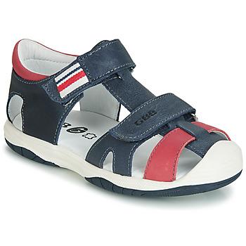 Čevlji  Dečki Sandali & Odprti čevlji GBB BERTO Rdeča