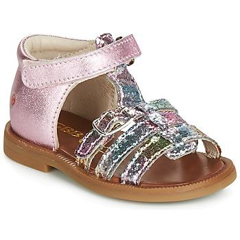 Čevlji  Deklice Sandali & Odprti čevlji GBB PHILIPPINE Rožnata