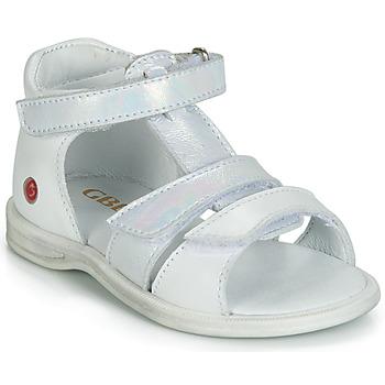 Čevlji  Deklice Sandali & Odprti čevlji GBB NAVIZA Bela