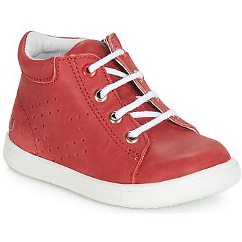 Čevlji  Dečki Visoke superge GBB FOLLIO Rdeča