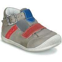 Čevlji  Dečki Sandali & Odprti čevlji GBB BALILO Siva / Modra / Rdeča