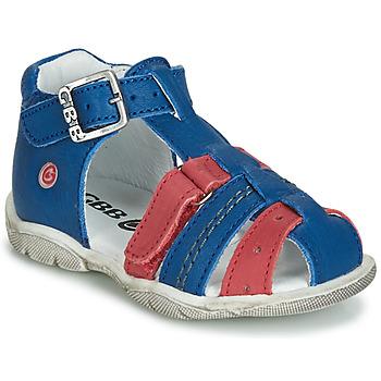 Čevlji  Dečki Sandali & Odprti čevlji GBB ARIGO Modra / Rdeča