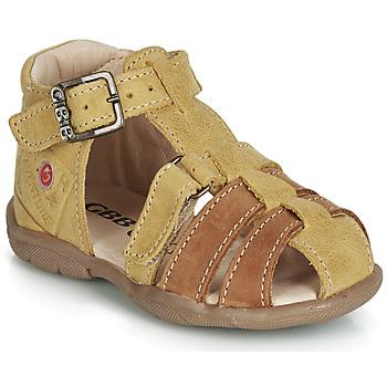 Čevlji  Dečki Sandali & Odprti čevlji GBB PRIGENT Gorčica