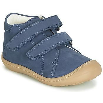 Čevlji  Dečki Visoke superge GBB MAGAZA Modra