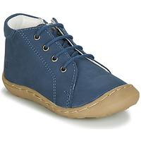 Čevlji  Dečki Visoke superge GBB FREDDO Modra