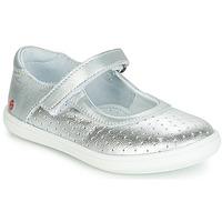 Čevlji  Deklice Balerinke GBB PLACIDA Srebrna