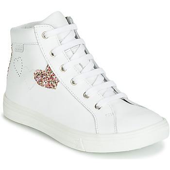 Čevlji  Deklice Visoke superge GBB MARTA Bela / Večbarvna