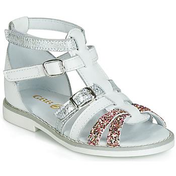 Čevlji  Deklice Sandali & Odprti čevlji GBB MONELA Bela