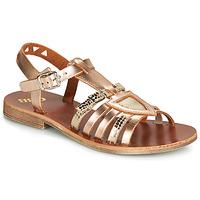 Čevlji  Deklice Sandali & Odprti čevlji GBB FANNI Bronze
