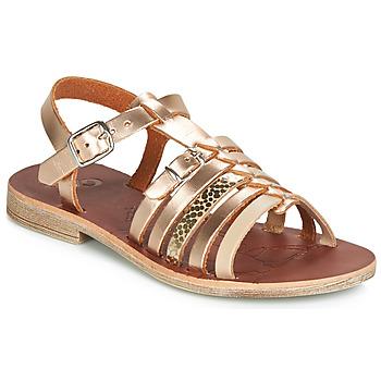 Čevlji  Deklice Sandali & Odprti čevlji GBB BANGKOK Pozlačena