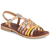 Čevlji  Deklice Sandali & Odprti čevlji GBB BANGKOK Rumena