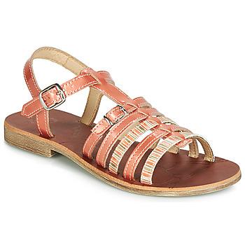 Čevlji  Deklice Sandali & Odprti čevlji GBB BANGKOK Koralna