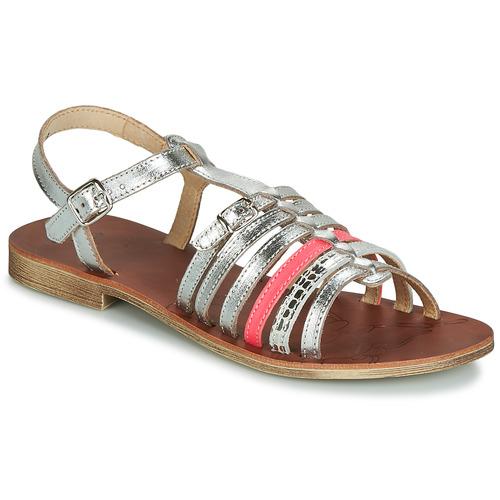 Čevlji  Deklice Sandali & Odprti čevlji GBB BANGKOK Srebrna