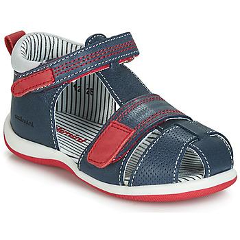 Čevlji  Dečki Sandali & Odprti čevlji Catimini BALIMO Rdeča