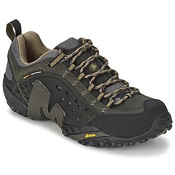 Čevlji  Moški Pohodništvo Merrell INTERCEPT Črna