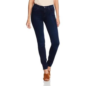 Oblačila Ženske Jeans skinny Wrangler High Skinny W27HBV78Z navy