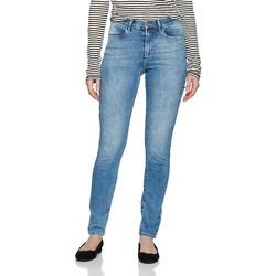 Oblačila Ženske Jeans skinny Wrangler ® High Rise Skinny 27HX794O blue