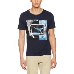 Oblačila Moški Majice s kratkimi rokavi Producent Niezdefiniowany Lee® Photo Tee 60QEPS blue