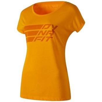 Oblačila Ženske Majice s kratkimi rokavi Dynafit Compound Dri-Rel Co W S/s Tee 70685-4630 orange