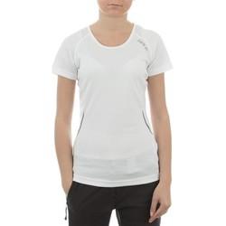 Oblačila Ženske Majice s kratkimi rokavi Dare 2b T-shirt  Acquire T DWT080-900 white