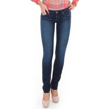 Oblačila Ženske Jeans skinny Wrangler Jeansy  Skyline W26FX754R blue