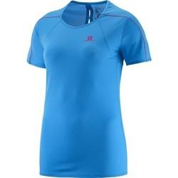 Oblačila Ženske Majice s kratkimi rokavi Salomon Minim Evac Tee W 371146 blue