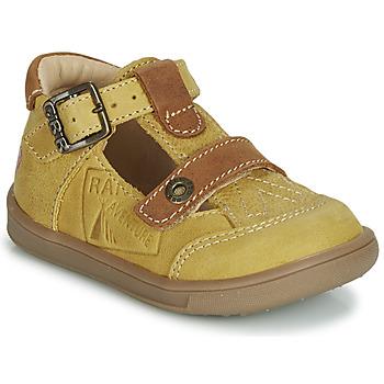 Čevlji  Dečki Sandali & Odprti čevlji GBB AREZO Gorčica