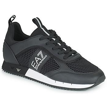 Čevlji  Nizke superge Emporio Armani EA7 LACES U Črna