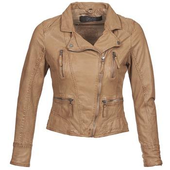Oblačila Ženske Usnjene jakne & Sintetične jakne Oakwood CAMERA Cognac
