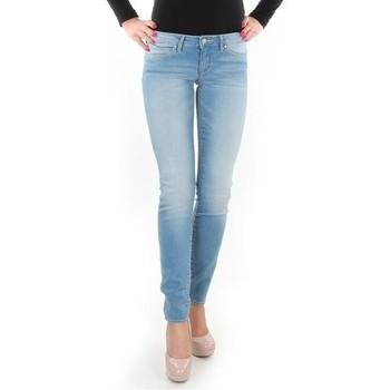 Oblačila Ženske Jeans skinny Wrangler Caitlin Blue Baloo W24CH145X blue
