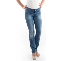 Oblačila Ženske Kavbojke slim Lee Marlin Slim Straight L337OBDJ blue