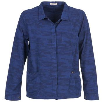 Oblačila Ženske Jakne & Blazerji Lee CAMO Modra