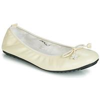 Čevlji  Ženske Balerinke Mac Douglas ELIANE Kremno bela