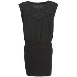 Oblačila Ženske Kratke obleke Vila VIHAMIN Črna