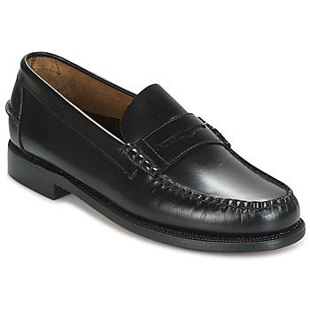 Čevlji  Moški Mokasini Sebago CLASSIC Črna