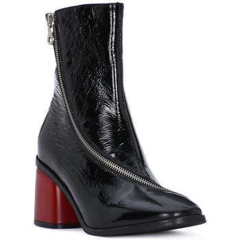 Čevlji  Ženske Gležnjarji Juice Shoes NAPLAK NERO Nero