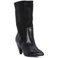 Čevlji  Ženske Gležnjarji Juice Shoes TEVERE NERO STRASS NERI Nero