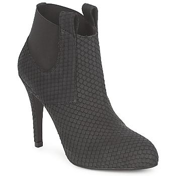 Čevlji  Ženske Gležnjarji Frida CASTRIL Črna
