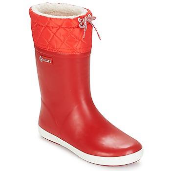 Čevlji  Otroci Škornji za sneg Aigle GIBOULEE Rdeča / Bela