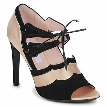 Čevlji  Ženske Sandali & Odprti čevlji Moschino MA1601 Črna